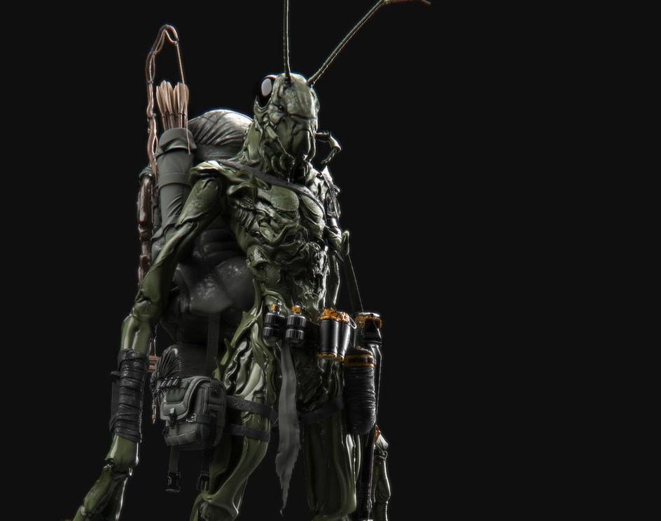 alien warriorby kiarash.tamizkar