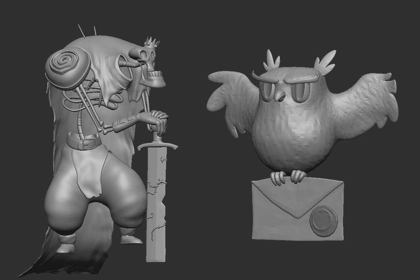 sculpting retopology uvs rendering modeling 3d character