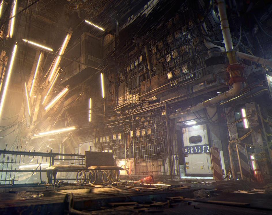 DEUS EX: MANKIND DIVIDED | Golem City - Social Hubby Kingpoby