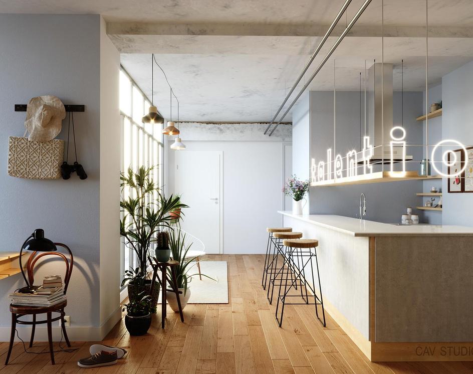 Kitchen spaceby CAVstudio