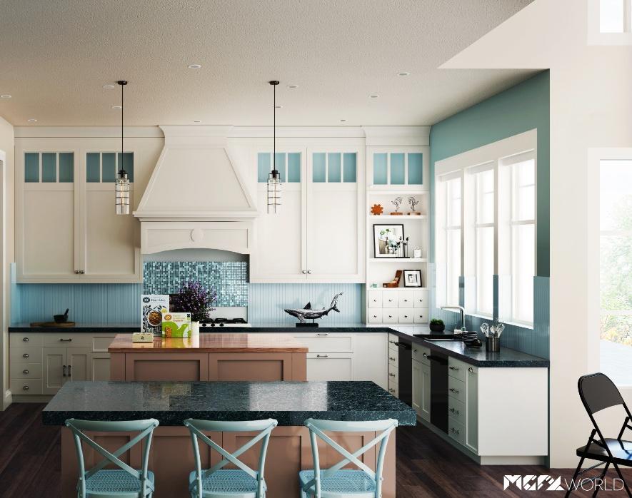 Kitchen Design Renderingby MGFX World