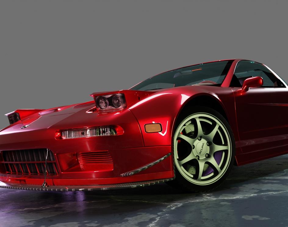 Acura NSX 1997by Jim Arriesgado