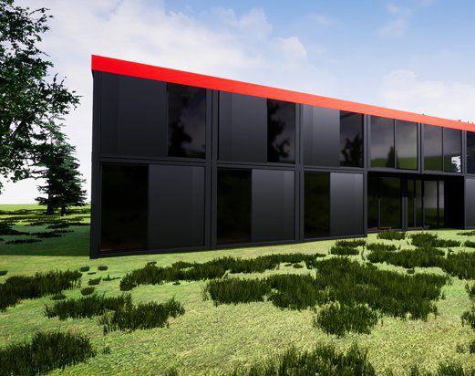 Animacja 3D budynkuby Zaplecze Graficzne