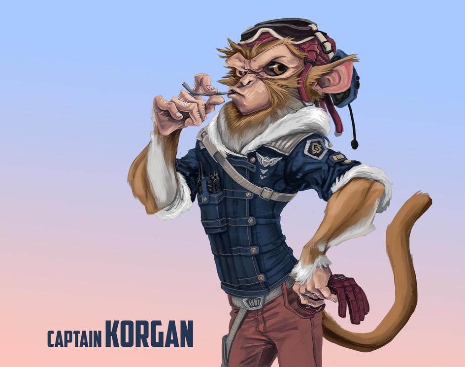 Captain Korganby Santiago Camacho