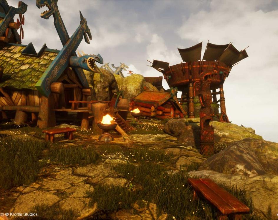 Nordic Village - Realtime - Gameplayby kroftle studios