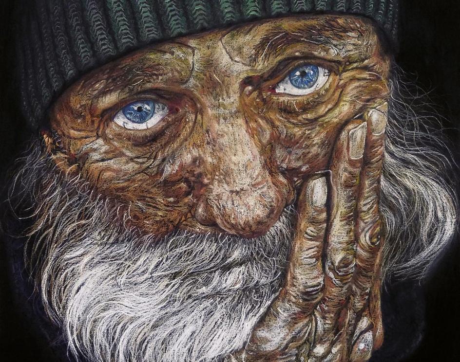 Homeless manby Ksenija  Strnad Kralj