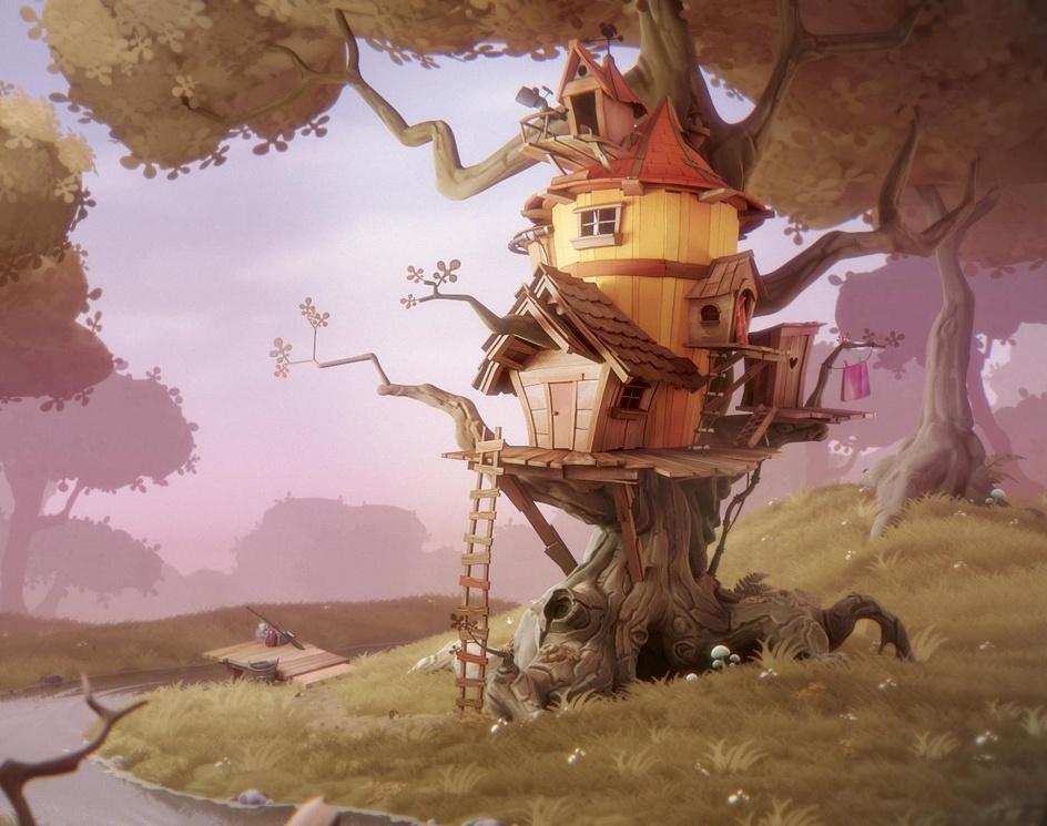 Treehouseby Kjartan Tysdal