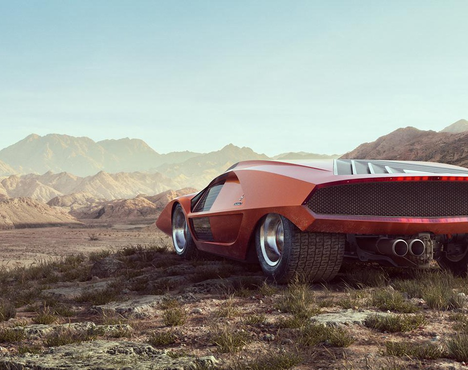 Lancia Stratos Zeroby David Schaefer