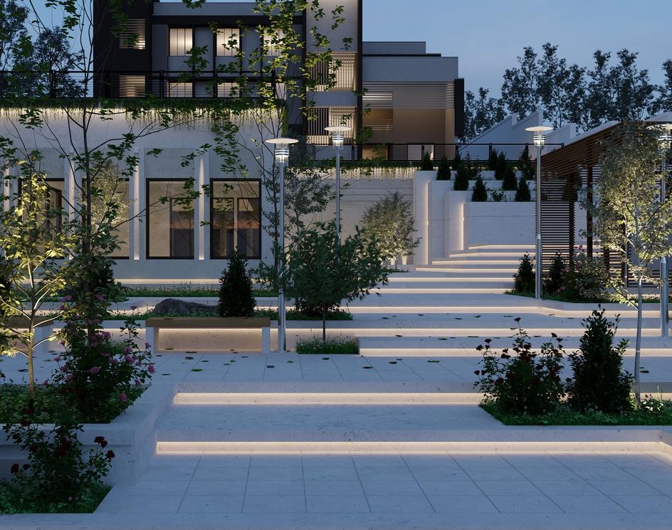 Villa at nightby Mehdi Farmani