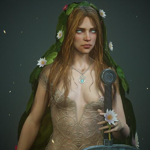 lady of the lake fantasy