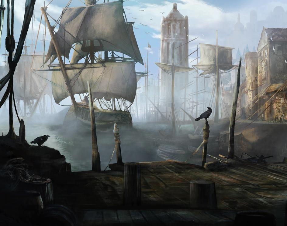 Port (Morning version)by Helen Ilnytska