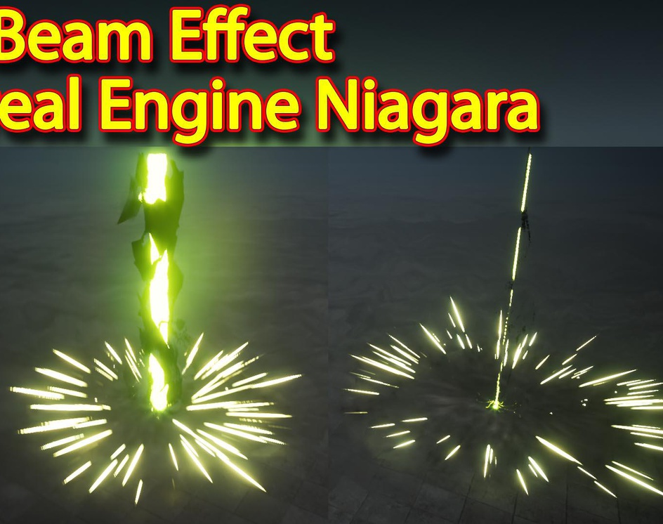 Laser Beam Effect | Unreal Engine Niagara Tutorial | UE4 Laser Beamby Ashif Ali