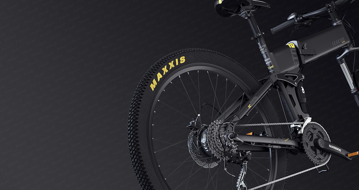 cinema 4D bike design
