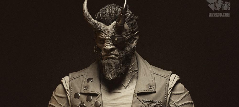 sculpt, Larry, weapon dealer, Shadow Warrior 2