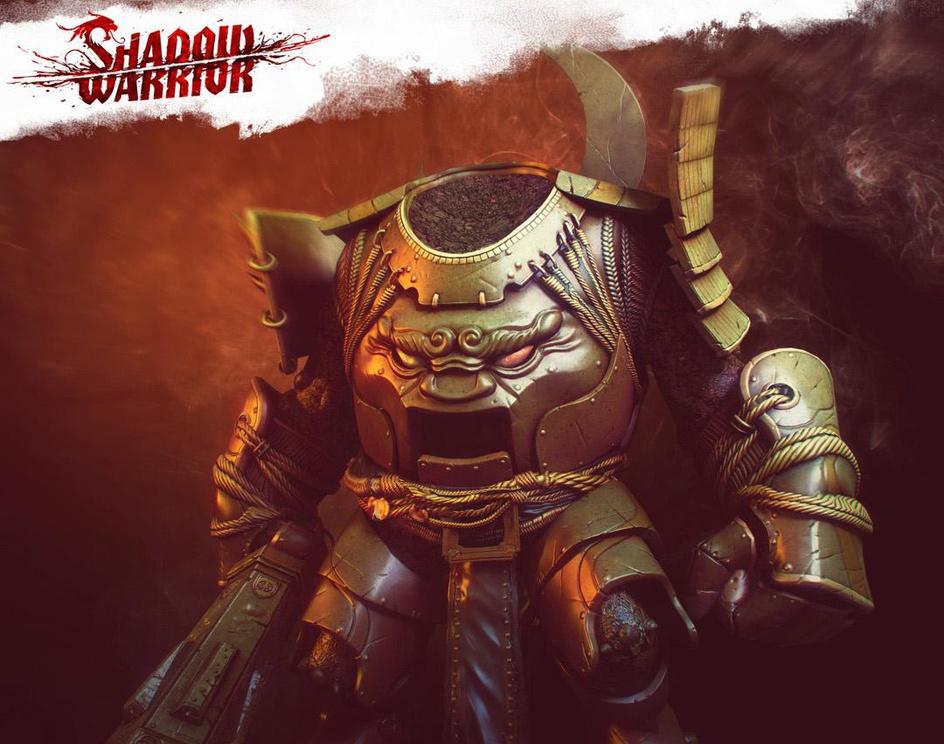 Shadow Warrior - Xing and Berserkerby Pawel Jaruga