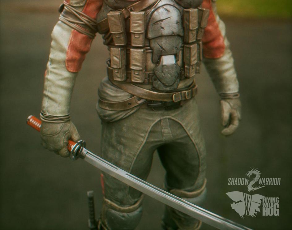 Ninja Co-Op - Shadow Warrior 2 - trailer characterby Pawel Jaruga