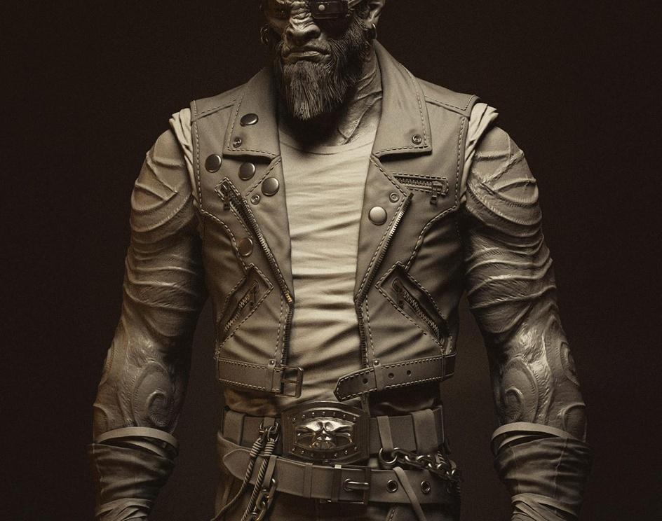 Shadow Warrior 2 - Larry - NPCby Pawel Jaruga