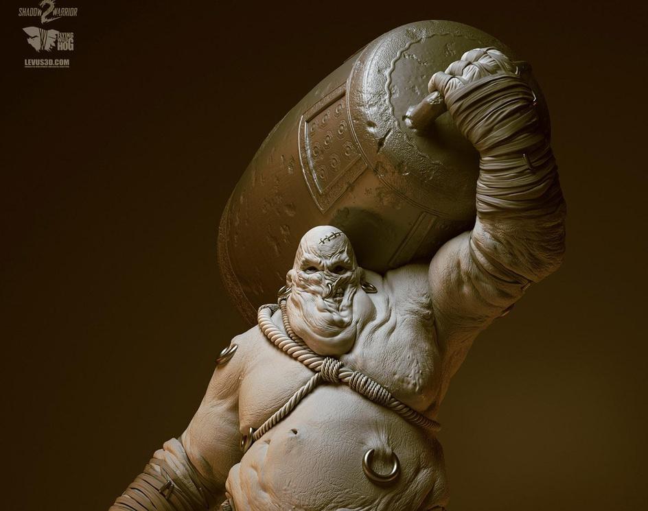 Shadow Warrior 2 - Belly - enemyby Pawel Jaruga