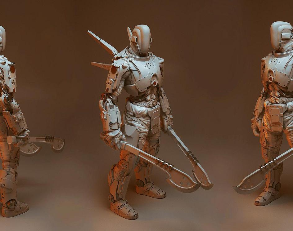 Shadow Warrior 2 - Zilla Commando - enemyby Pawel Jaruga