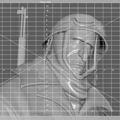 render settings V-Ray render optimization male model