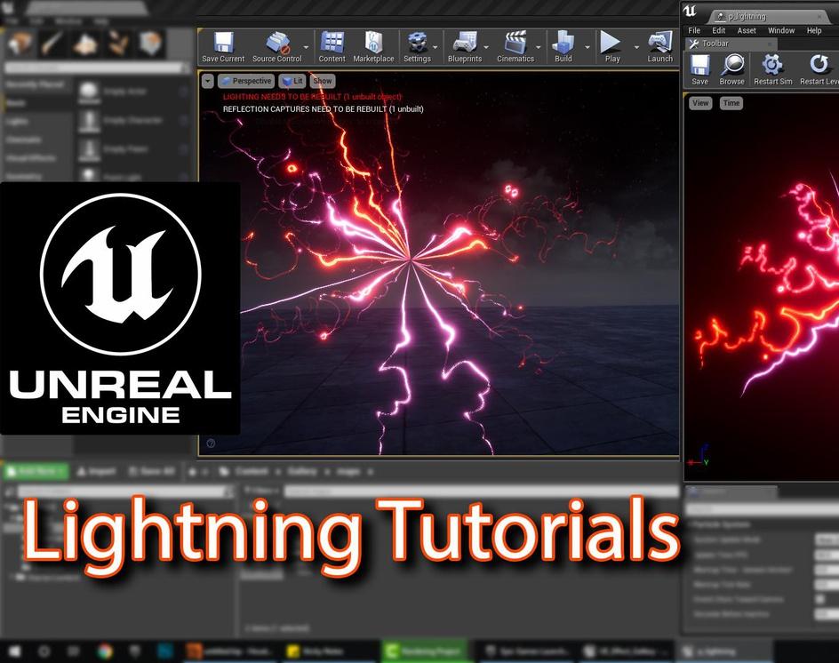 Unreal Engine | Lightning Tutorial |by Ashif Ali