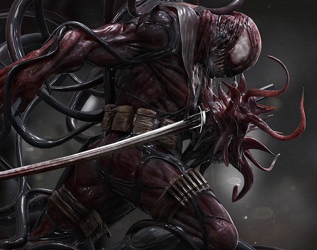 Deadpool-Symbioteby Limkuk