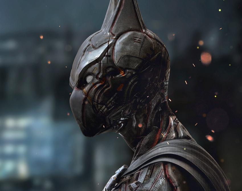 Batman Beyond Redesignby Limkuk