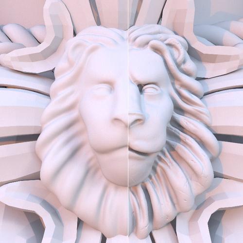surface imperfections detailing 3d sculpt