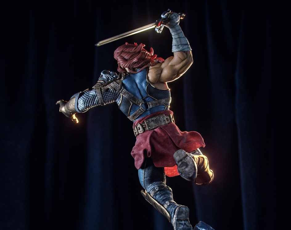 ThunderCats Reimagined - Lion-Oby luis.omar