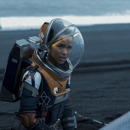 astronaut space suit sci-fi show