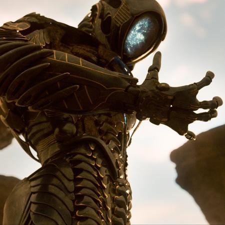 futuristic robot character design neftlix
