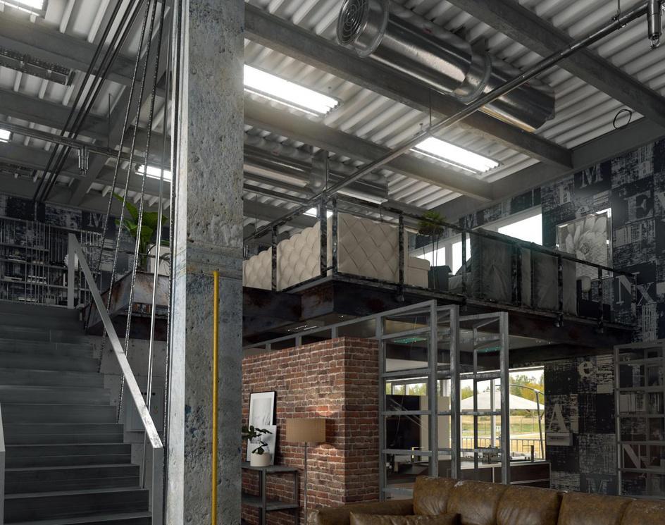 Loft design decorby saeed joshan