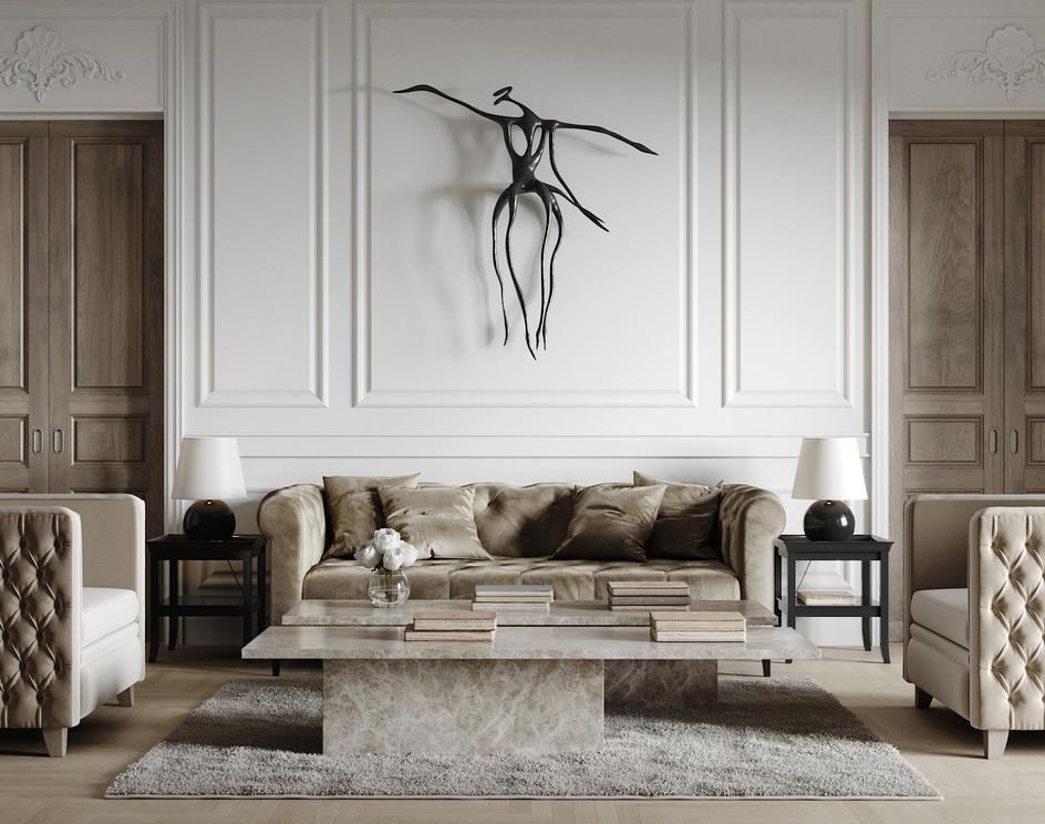 London apartment. CGI.by 3Dmitri