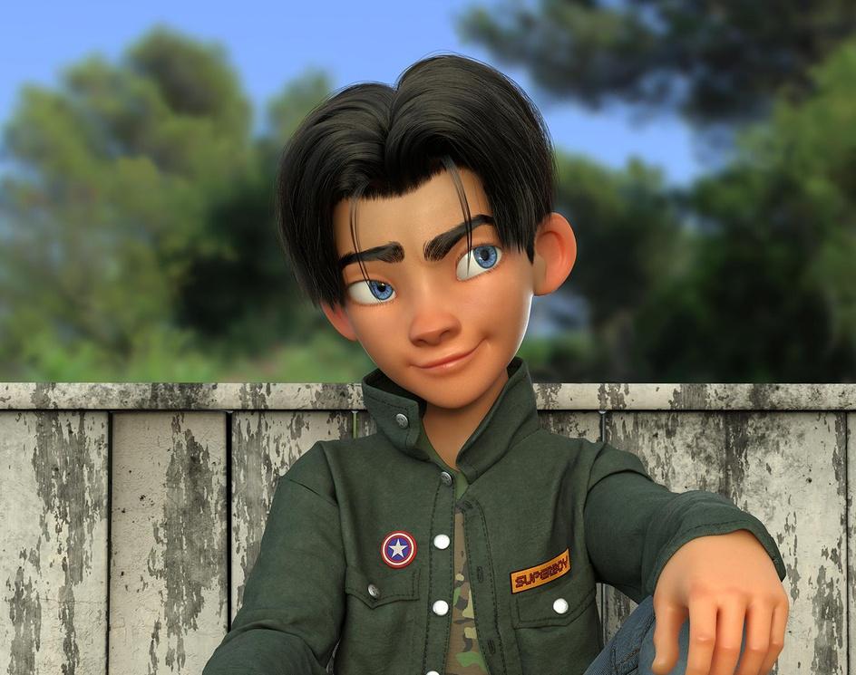 Lonely boyby Javier Benver