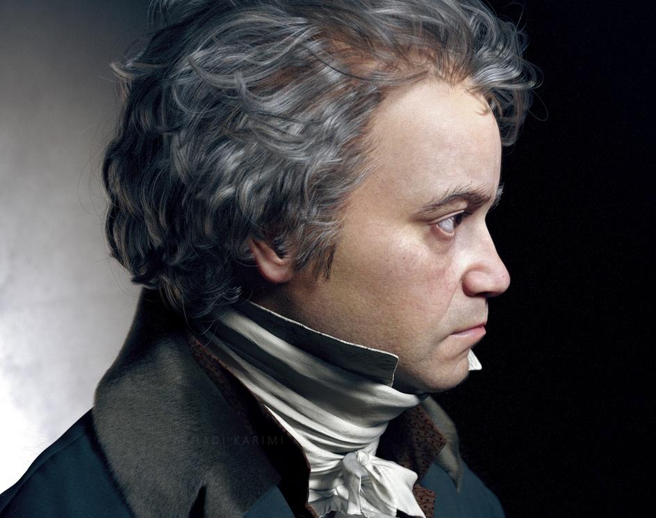 Ludwig van Beethoven (1815)by Hadi Karimi