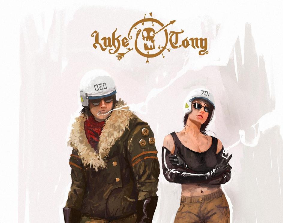 Luke & Tonyby Ismail Inceoglu
