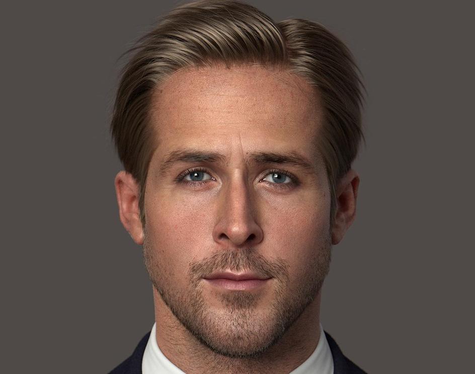 Ryan Gosling 3D Modelby mabdelfatah