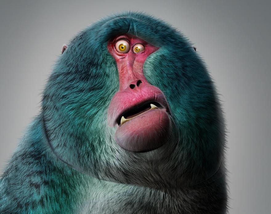 Blue Macaqueby JBVendamme