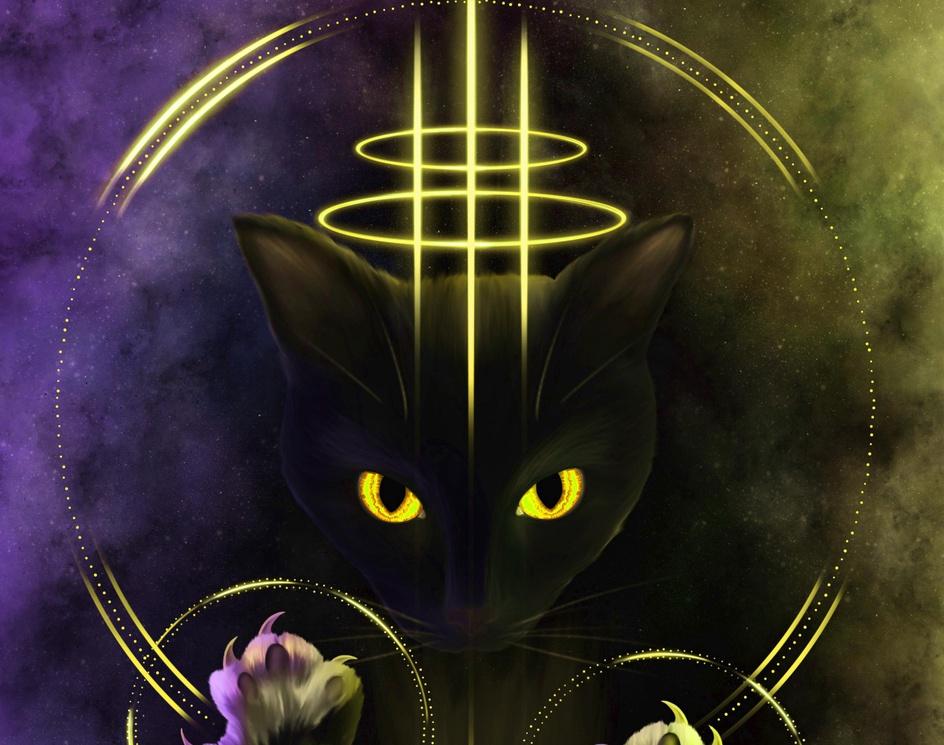 Magical Catby Iben Bratlie