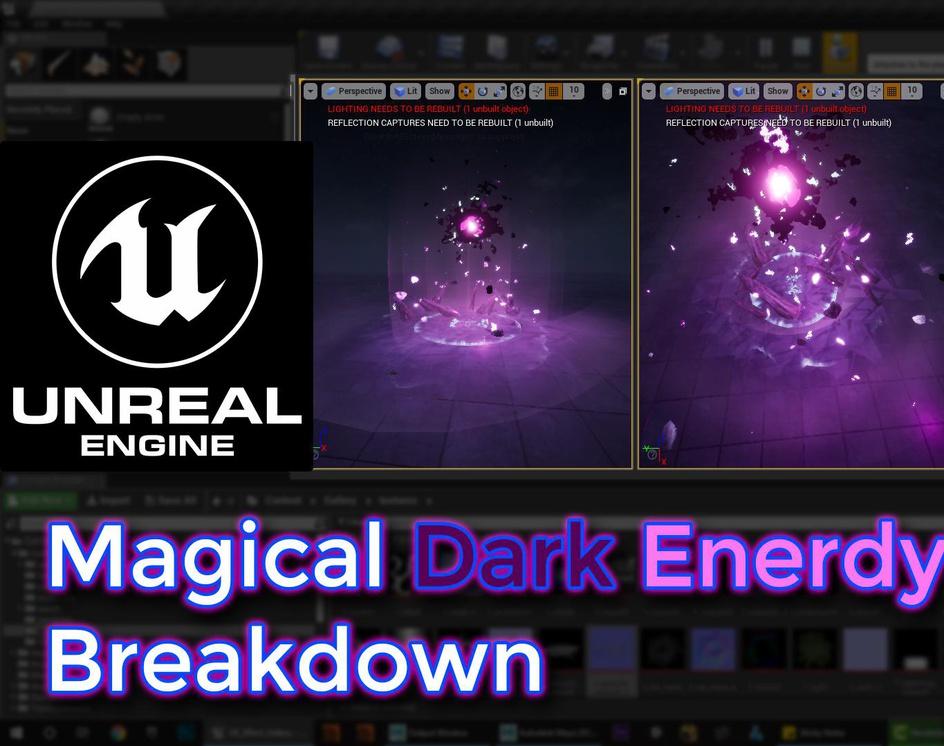 Unreal Engine Magical Dark Energy Breakdownby Ashif Ali