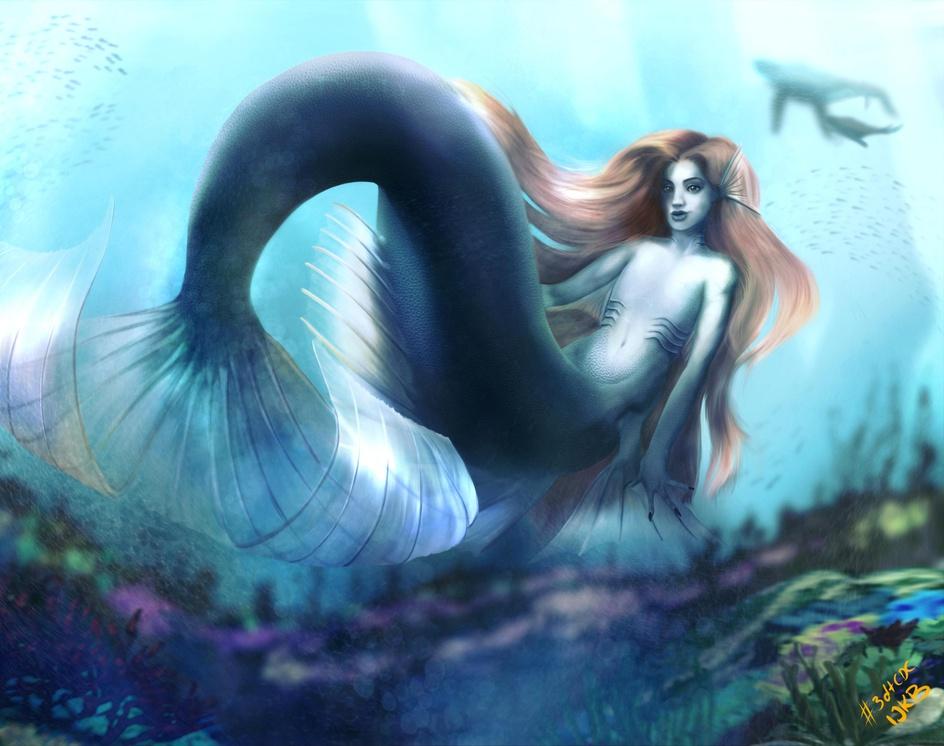 Mermaidby Iben Bratlie