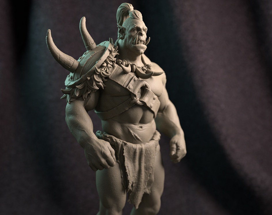 Orc Warriorby Ishak Moussa