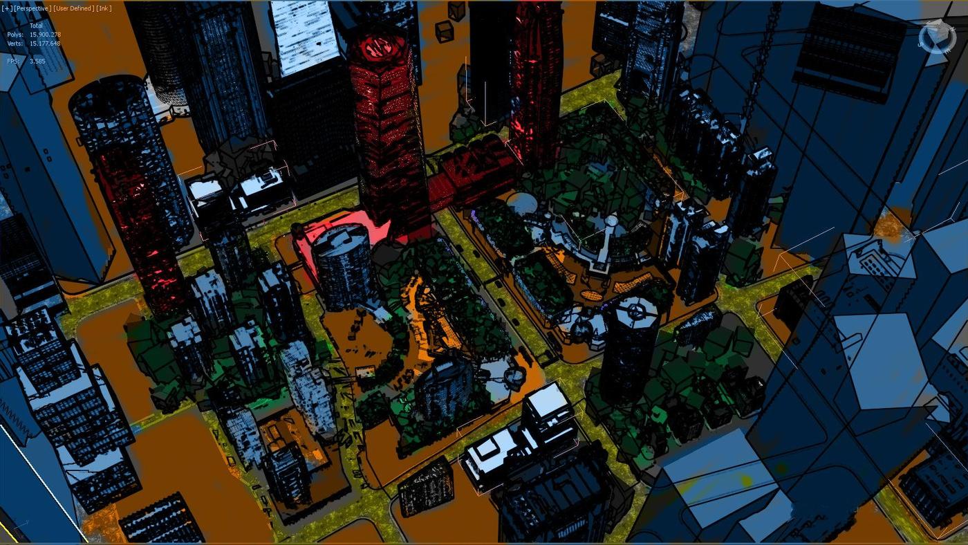 scene setting sketch