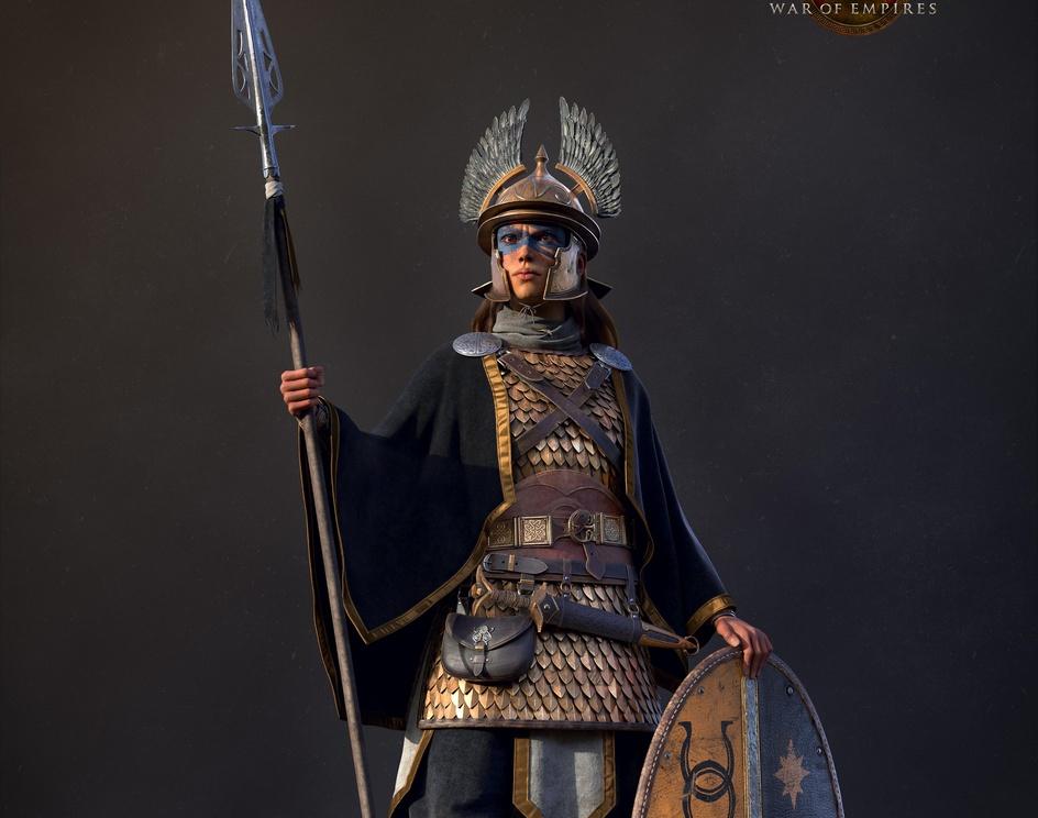 Celtic warriorby oleg_bozhko