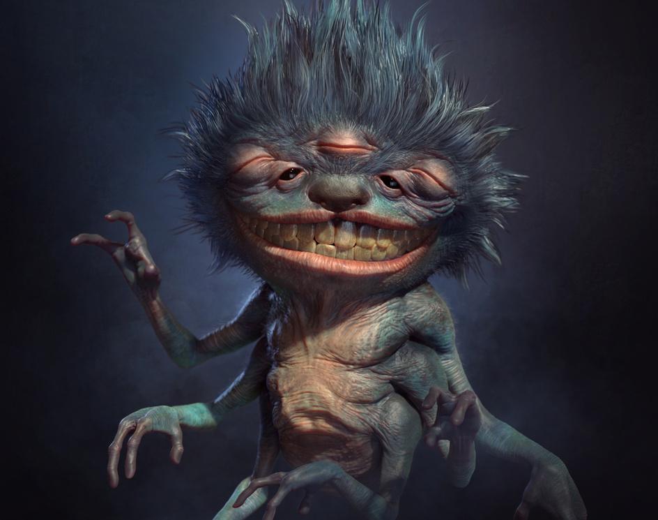 Creatures: Mystical Household Deityby CGCUP