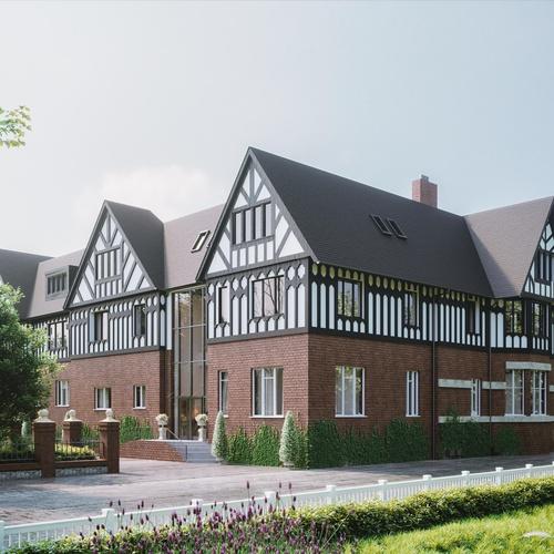 manchester building 3d