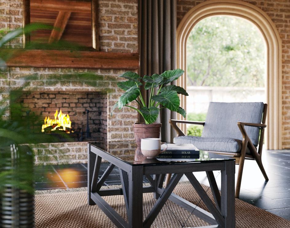 Mansion Loggia Decor Ideasby DEER Design