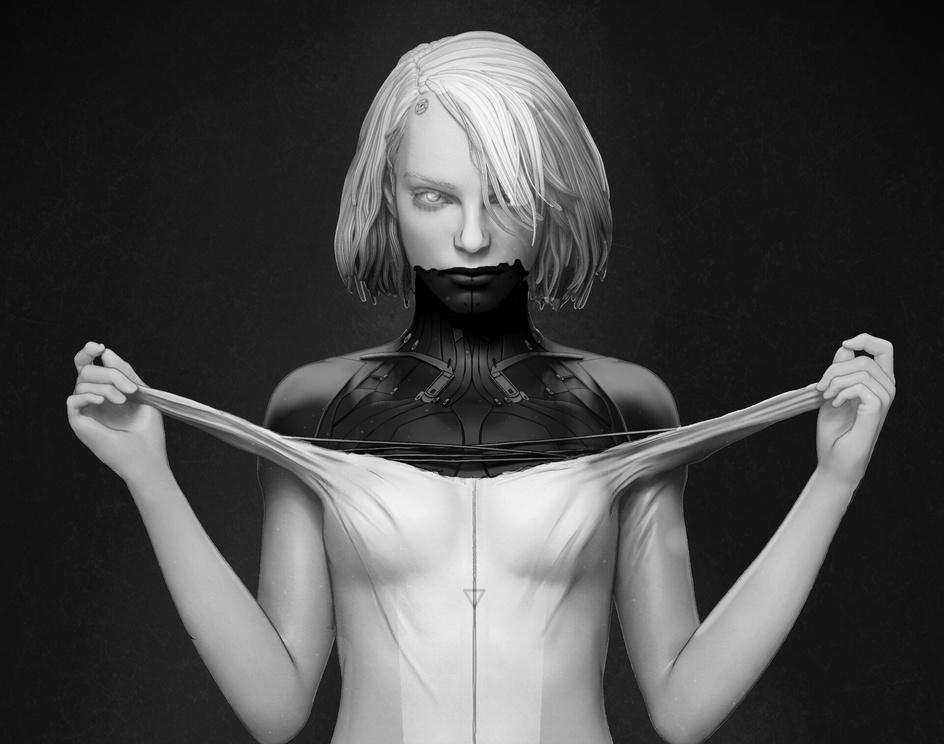 Cyberpunk New Skinby Marina del Ribero