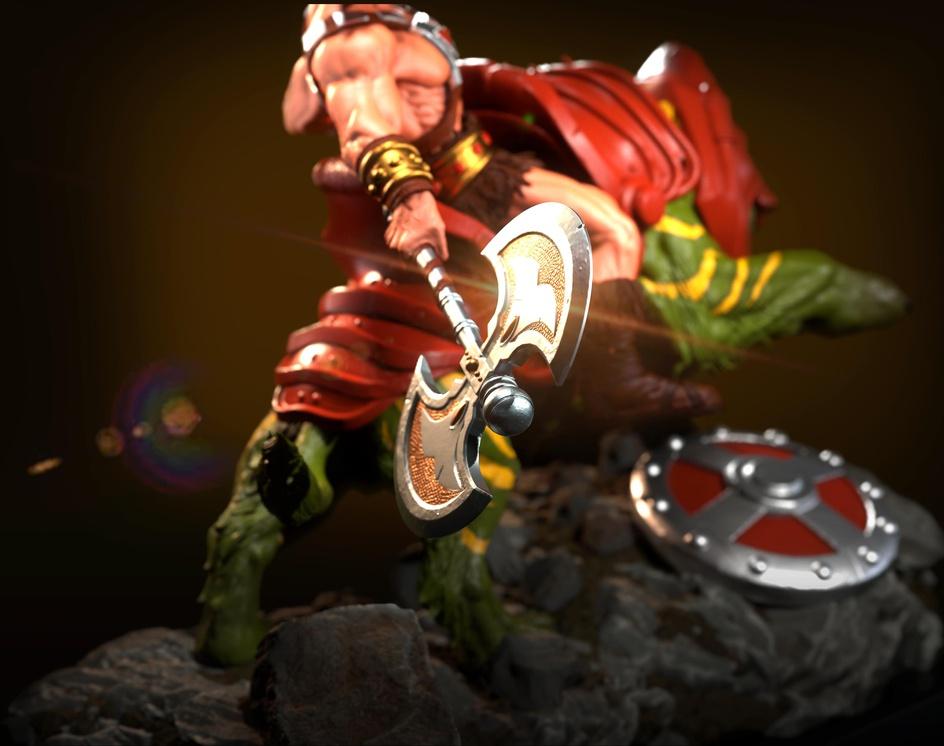 He-Man and Battlecat dioramaby seven.kryptos