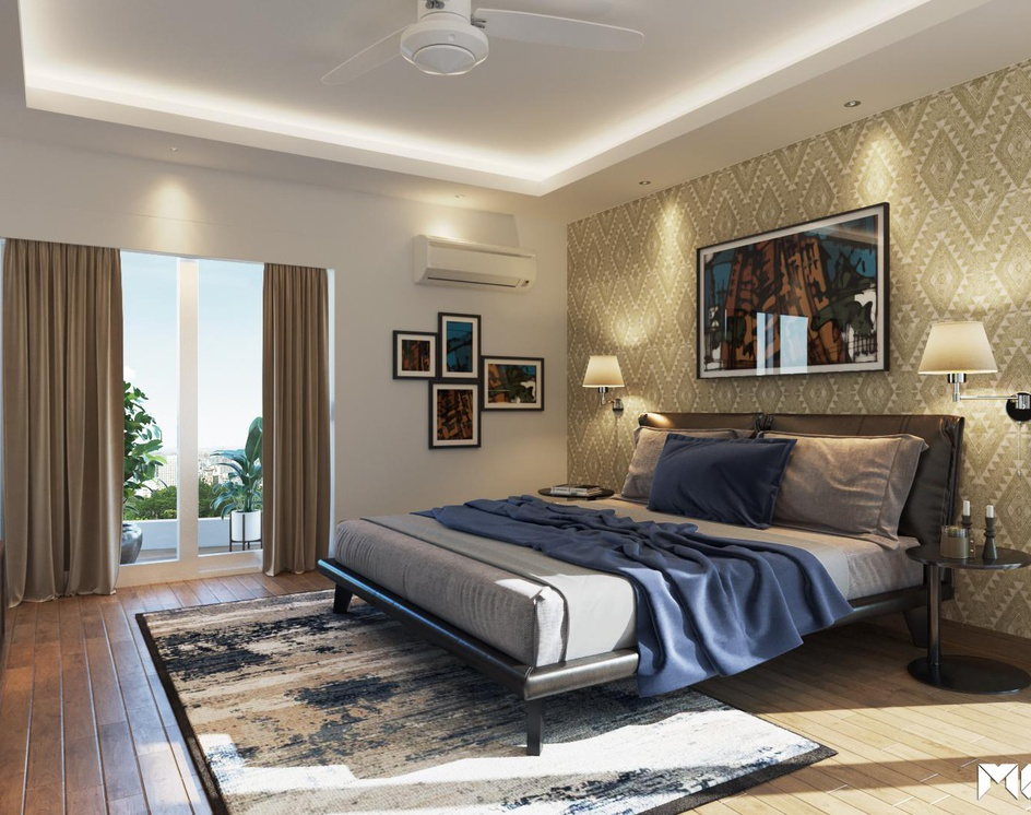 3D Rendering Bedroomby MGFX World